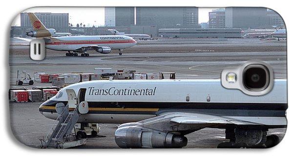 Trans Continental Douglas Dc-8-61f, Lax, N812ck Galaxy S4 Case