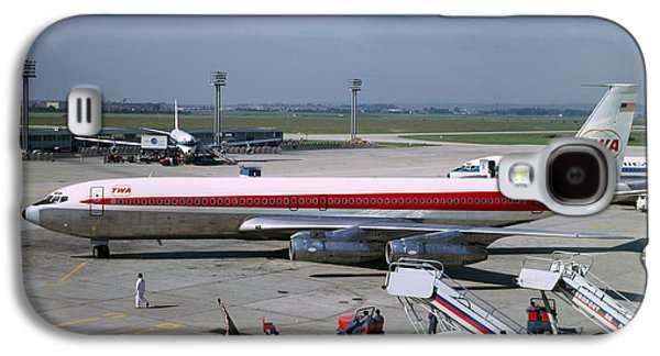 Trans World Airlines Twa Boeing 707 N780tw Galaxy S4 Case by Wernher Krutein