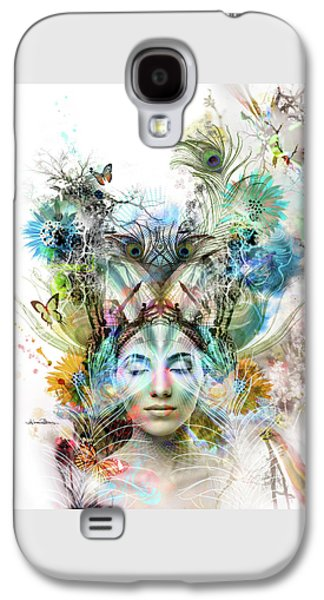 Transcendence Galaxy S4 Case by Misprint