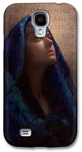 Transformation - Woman With Romans 12 2 Written In Original Greek  Galaxy S4 Case