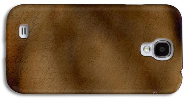 Transparent Words Galaxy S4 Case