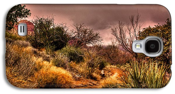 Traveling The Trail At Red Rocks Canyon Galaxy S4 Case