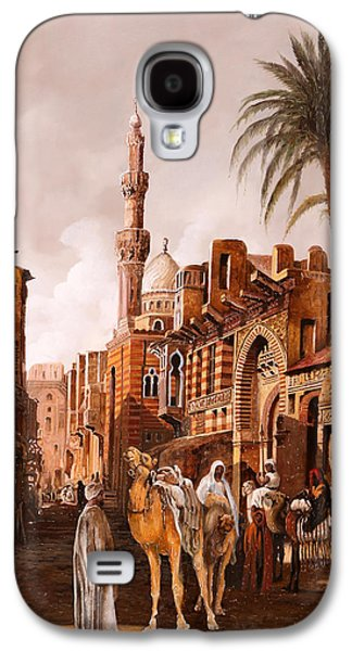 Camel Galaxy S4 Case - tre cammelli in Egitto by Guido Borelli
