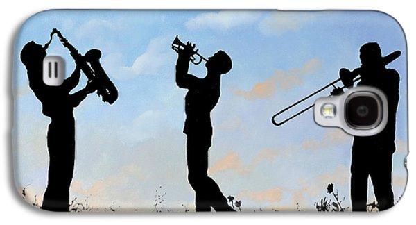 Trumpet Galaxy S4 Case - tre by Guido Borelli