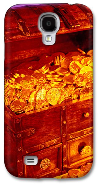 Treasure Chest With Gold Coins Galaxy S4 Case