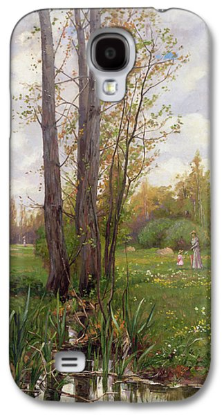Tree Beside Water  Galaxy S4 Case by Ernest Le Villain