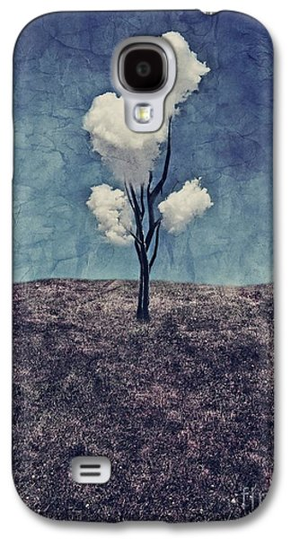 Galaxy S4 Case - Tree Clouds 01d2 by Aimelle