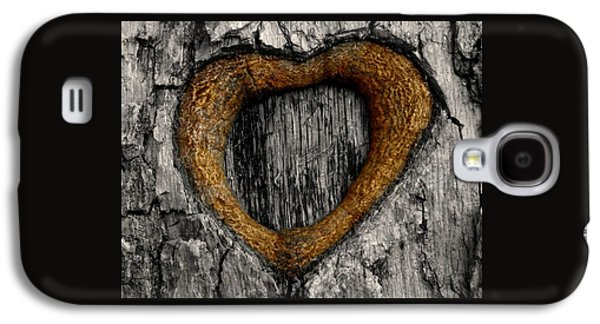 Tree Graffiti Heart Galaxy S4 Case