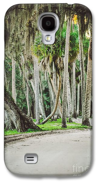 Tree Lined Dirt Road In Vintage Galaxy S4 Case