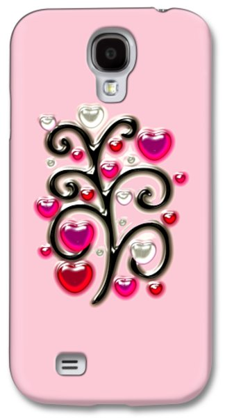 Tree Of Hearts Galaxy S4 Case