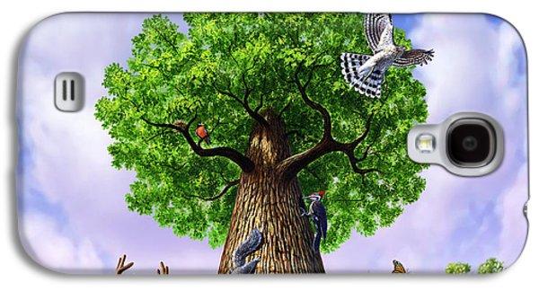 Tree Of Life Galaxy S4 Case by Jerry LoFaro