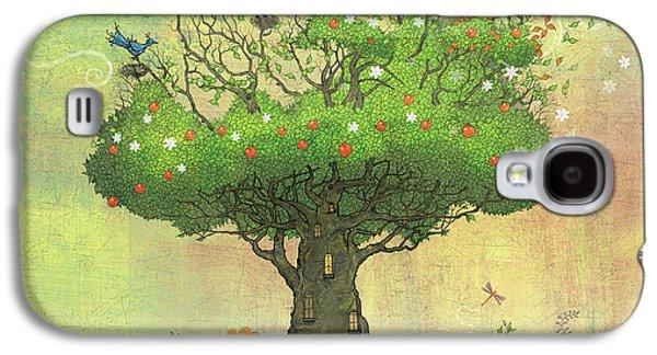 Tree Of Seasons Galaxy S4 Case by Dennis Wunsch