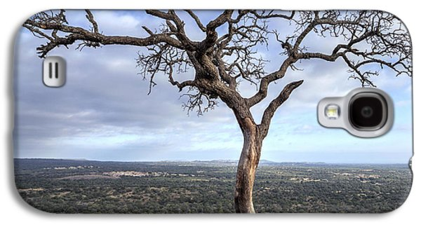 Tree On Enchanted Rock - Square Galaxy S4 Case