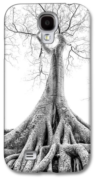 Tree Roots Cambodia Angkor Wat Galaxy S4 Case by Cory Dewald