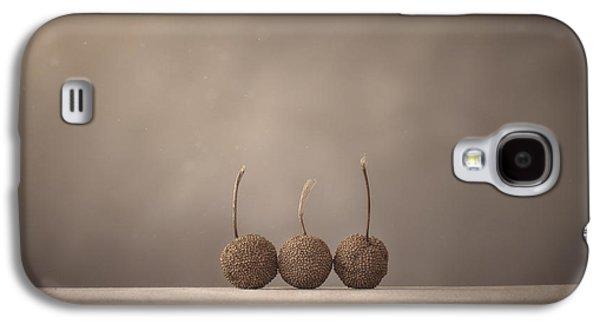 Minimalist Galaxy S4 Case - Tree Seed Pods by Scott Norris