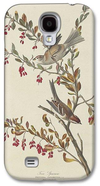 Tree Sparrow Galaxy S4 Case