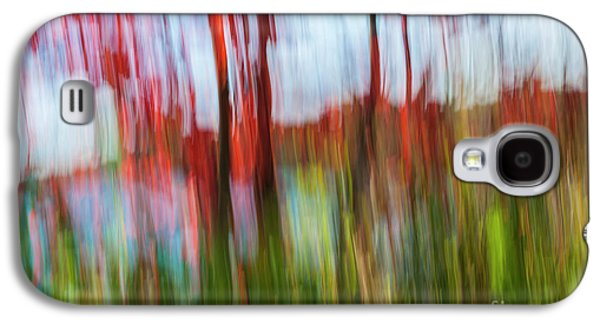 Trees And Lake Galaxy S4 Case by Elena Elisseeva