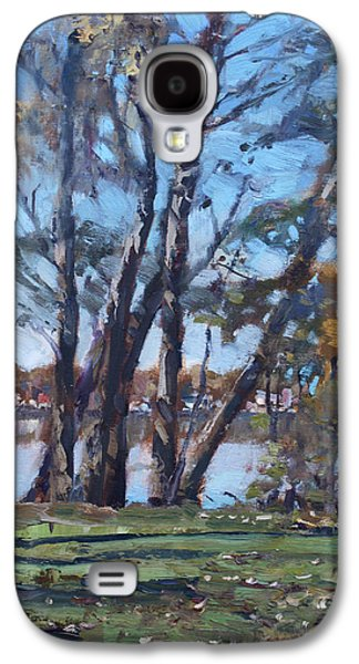 Trees By The River Galaxy S4 Case