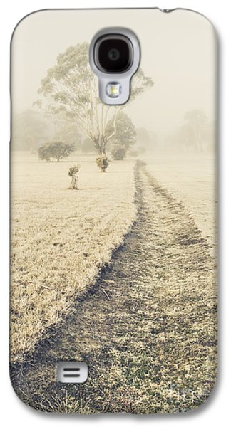 Trees In Fog And Mist Galaxy S4 Case by Jorgo Photography - Wall Art Gallery