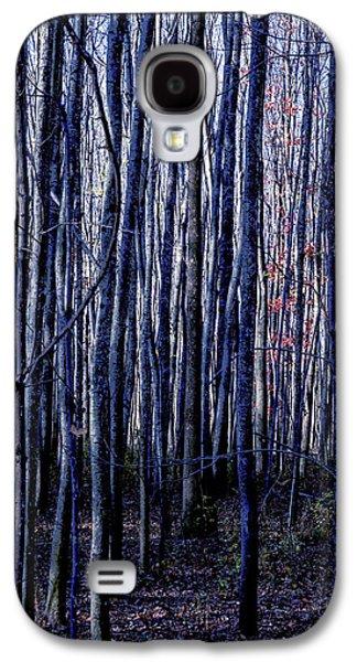 Treez Blue Galaxy S4 Case