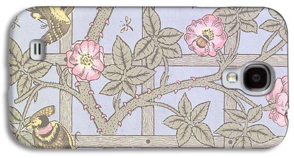 Trellis   Antique Wallpaper Design Galaxy S4 Case