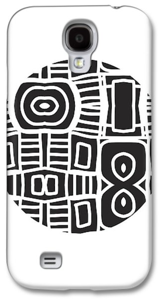 Tribal Ball- Art By Linda Woods Galaxy S4 Case by Linda Woods