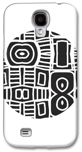Tribal Ball- Art By Linda Woods Galaxy S4 Case