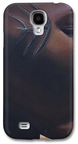Tribal Mark Galaxy S4 Case by Kaaria Mucherera