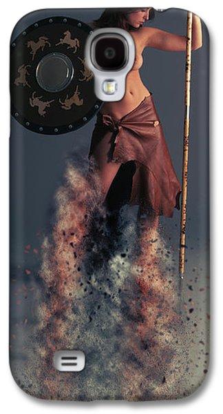 Tribal Warrior Galaxy S4 Case by Nichola Denny