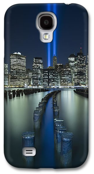 Wtc 11 Galaxy S4 Cases - Tribute In Light Galaxy S4 Case by Evelina Kremsdorf