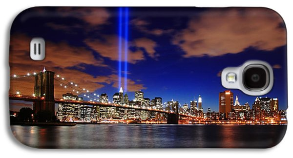 Trade Galaxy S4 Cases - Tribute In Light Galaxy S4 Case by Rick Berk
