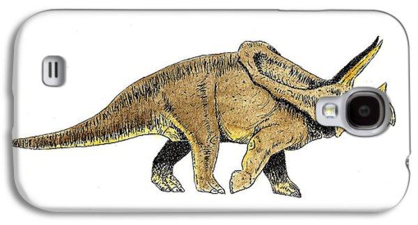Triceratops Galaxy S4 Case by Michael Vigliotti