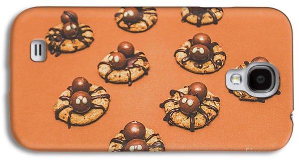 Trick Or Treat Halloween Spider Biscuits Galaxy S4 Case