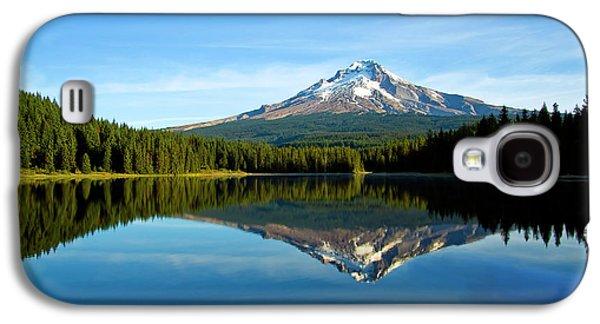 Trillium Lake Mt Hood Fall Galaxy S4 Case