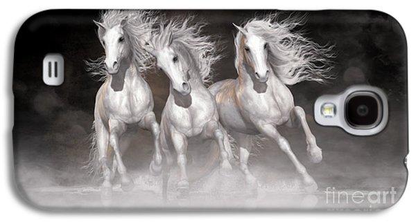 Trinity Horses Neutrals Galaxy S4 Case