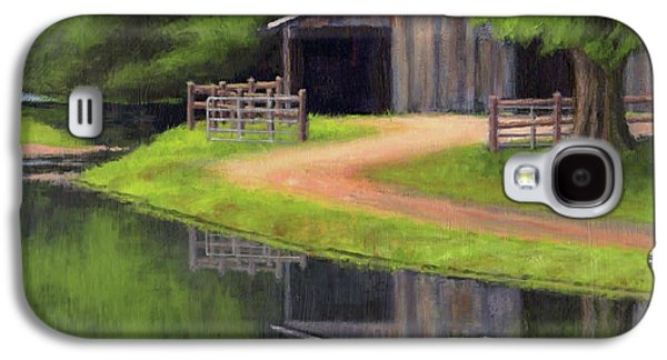 Triple L Ranch  Galaxy S4 Case by Janet King
