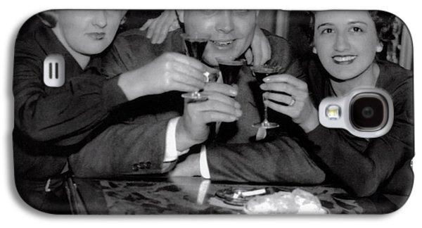 Triple Nightclub Toast - Prohibition Ends - Dec 5, 1933 Galaxy S4 Case by Daniel Hagerman
