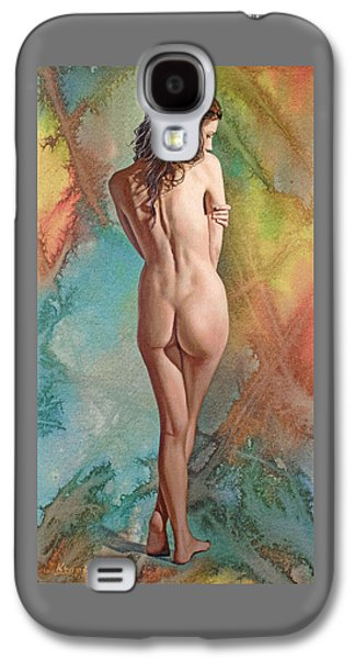 Nudes Galaxy S4 Case - Trisha - Back View by Paul Krapf
