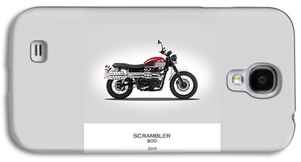 Triumph Scrambler 2015 Galaxy S4 Case by Mark Rogan