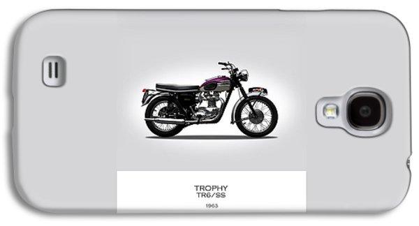 Triumph Trophy 1963 Galaxy S4 Case by Mark Rogan
