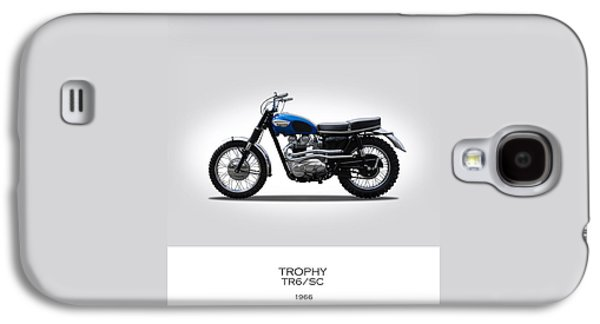 Triumph Trophy Tr6 Galaxy S4 Case by Mark Rogan
