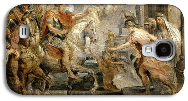 Triumphant Entry Of Constantine Into Rome Galaxy S4 Case