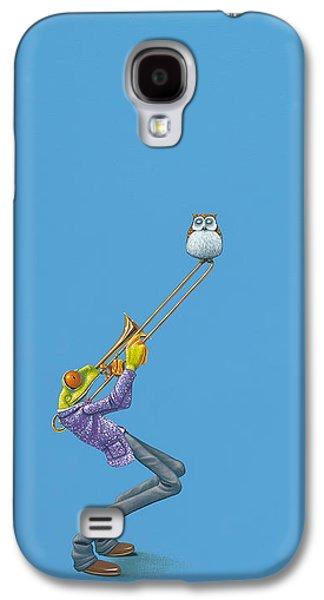 Trombone Galaxy S4 Case - Trombone by Jasper Oostland