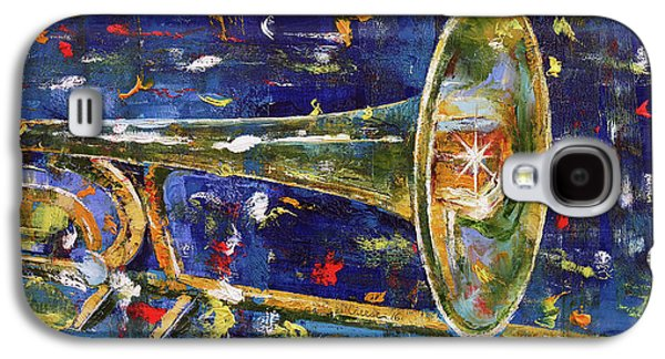 Trombone Galaxy S4 Case - Trombone by Michael Creese