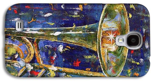 Trombone Galaxy S4 Case - Trombone by Michael Creese