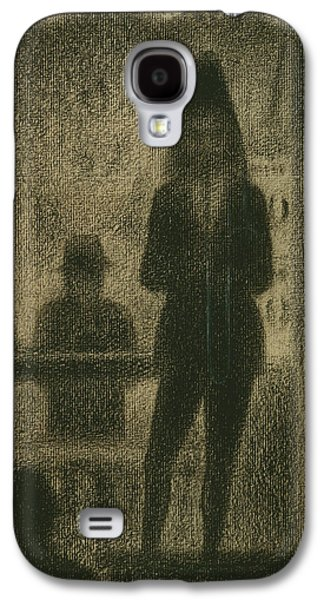 Trombonist  Galaxy S4 Case by Georges-Pierre Seurat