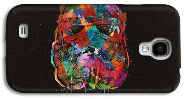 Trooper In A Storm Of Color Galaxy S4 Case