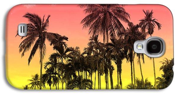 Fantasy Galaxy S4 Case - Tropical 9 by Mark Ashkenazi