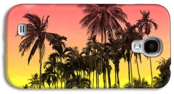 Tropical 9 Galaxy S4 Case by Mark Ashkenazi
