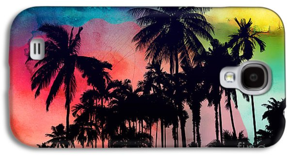 Tropical Colors Galaxy S4 Case by Mark Ashkenazi